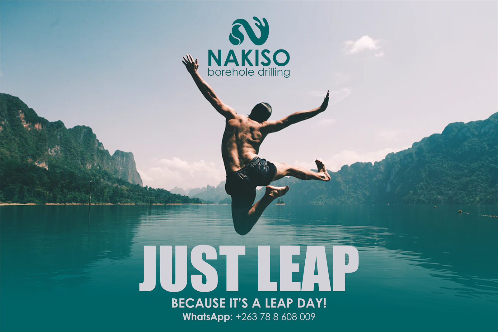#LeapToWin - Things To Know About February's Leap To Win Day with Nakiso Borehole Drilling