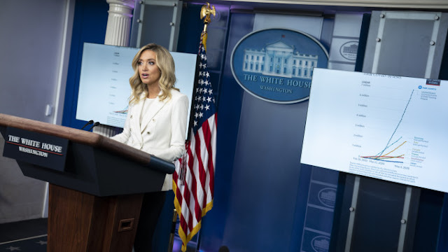 "Reporters Challenge Press Secretary Kayleigh McEnany On Donald Trump's Mail-In Ballot Tweets: ""The President Clearly Said Things … That Are Not True"""