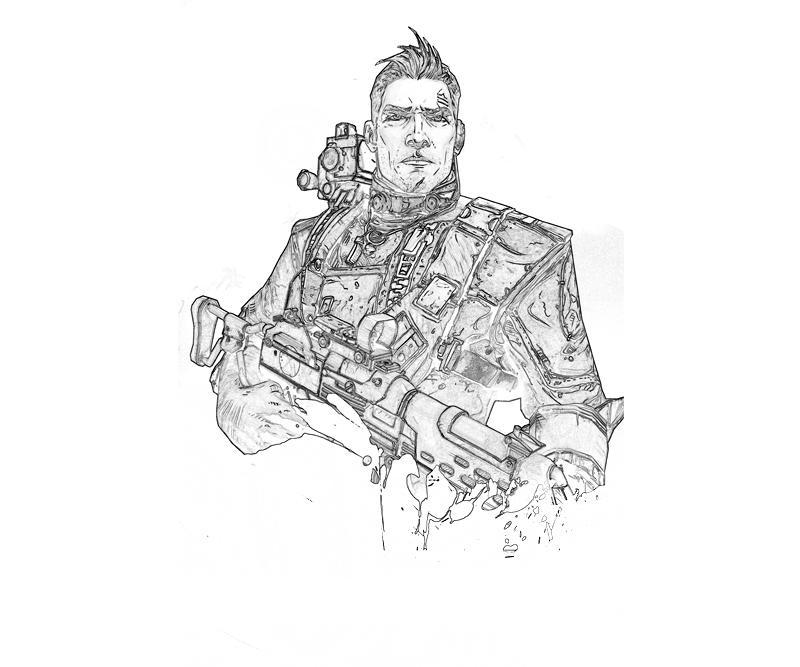 Borderlands 2 Axton Commando Yumiko Fujiwara