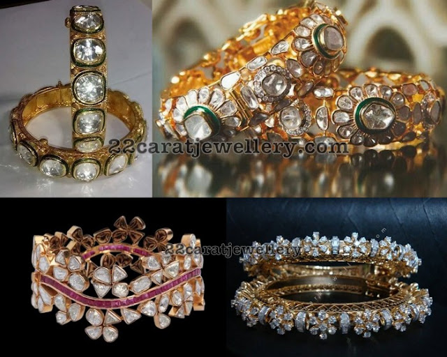 Diamond Kundan Trendy Bangles
