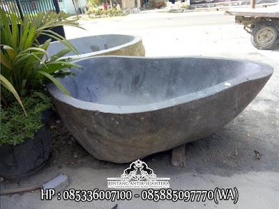 Bathup Batu Kali, Pengrajin Bathup Batu Kali, Bathup Dari Batu Alam