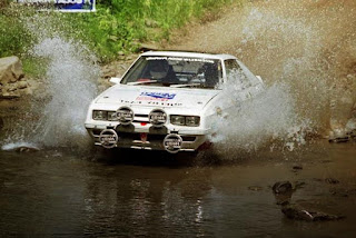 dodge shelby charger WRC car