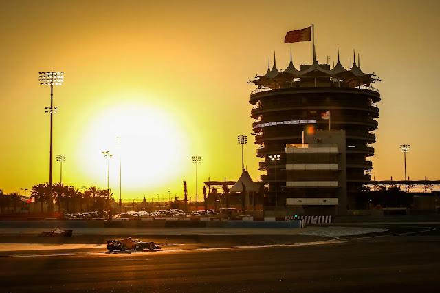 Bahrain (BAH) March 1-3, 2020 – Bahrain F2 and GP3 test at Bahrain International Circuit. Guilherme Samaia #10 Campos Racing. © 2020 Diederik van der Laan / Dutch Photo Agency