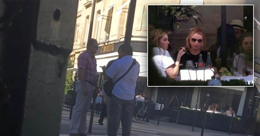 Video: Agreden e intentan quitar teléfono a periodista que captó a Angélica Rivera e hijas en París.