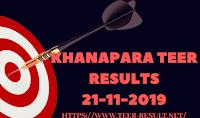 Khanapara Teer Results Today-21-11-2019