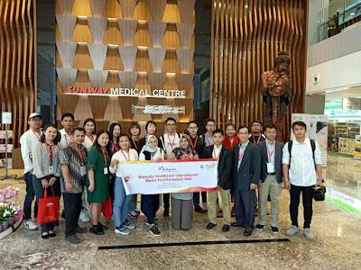Kunjungan di Tiga Rumah Sakit di Malaysia