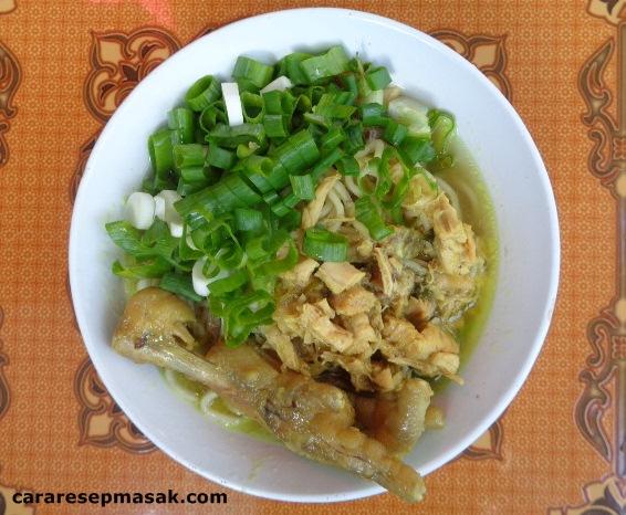Cara Membuat Mie Ayam Enak