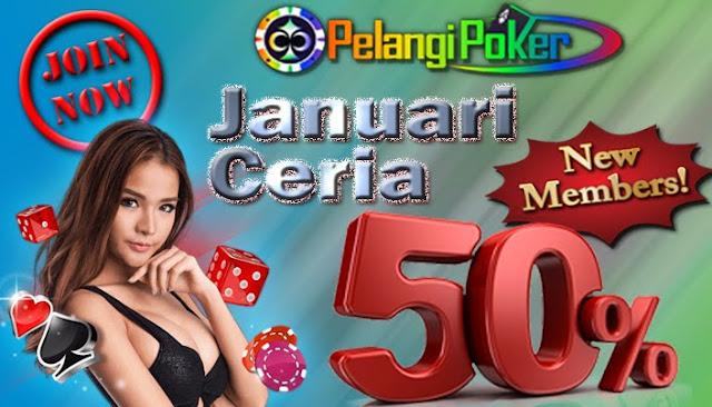 Bonus-Deposit-50-Persen-New-Member-Pelangi-Poker