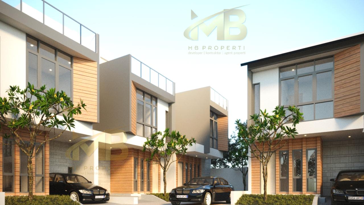Rumah Dijual Dalam Cluster Di CirRumah Dijual Dalam Cluster Di Cirendeu Ciputat Timur,Tangerang Selatan Rp 1,5 Mily