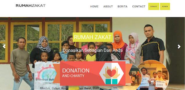 PHP Web Zakat dan Donasi Online
