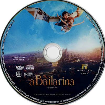 Label DVD A Bailarina (Oficial)