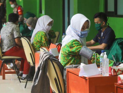 Anggota DPRD Lampung Dorong Percepatan Vaksinasi COVID-19 bagi Pelajar