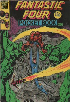 Fantastic Four pocket book #3, the Inhumans