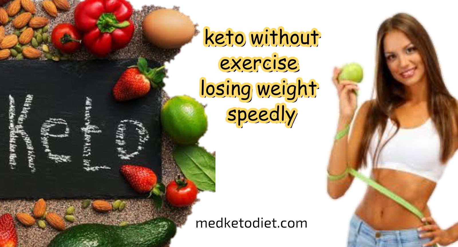 Keto Diet Plan To Lose Weight Without Exercise