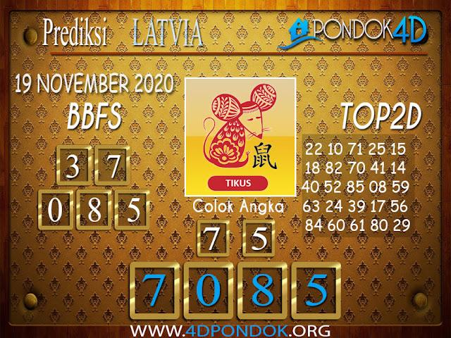 Prediksi Togel LATVIA PONDOK4D 19 NOVEMBER 2020