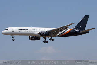 Boeing 757-200 of Titan Airways