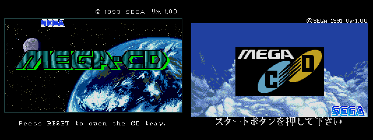The Mercatopo: My MegaCD is region free!