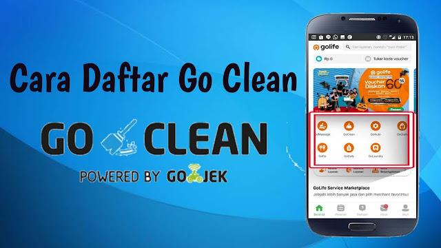 Cara Daftar Go Clean Online dan Bayaran Per Harinya