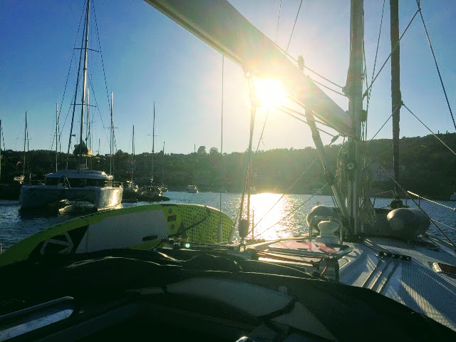 More Yachting Please - Sunrise on board
