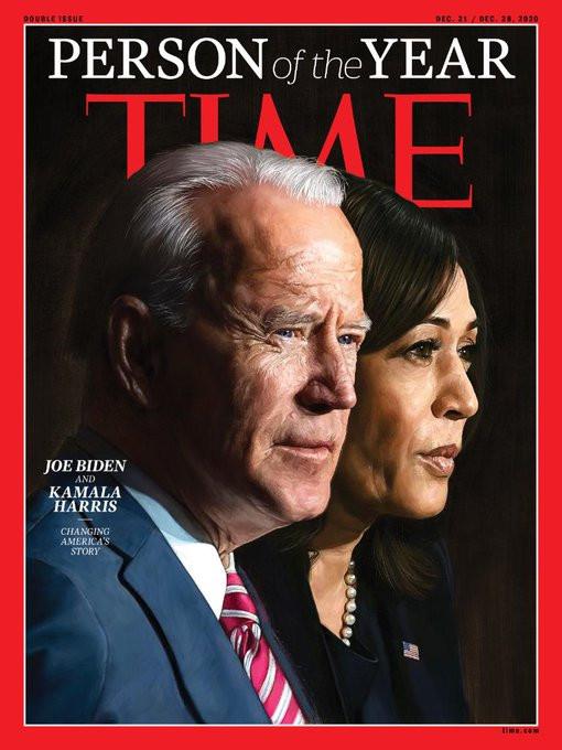 Time Magazine names Joe Biden and Kamala Harris 'Person of the Year