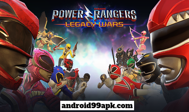 لعبة الاكشن Power Rangers: Legacy Wars v2.7.0 بحجم 73 MB للأندرويد
