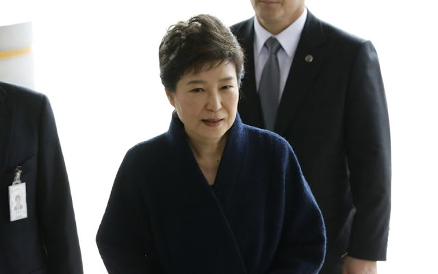 South Korean court extends detention of ousted former president Park Geun-hye