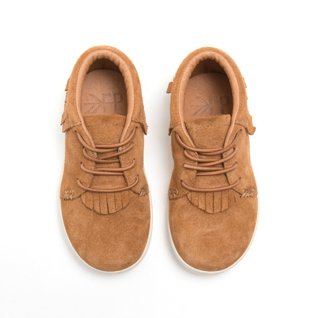 hard sole brown suede shoes for boys