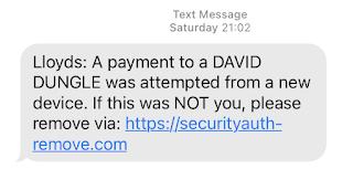 David Dungle Text
