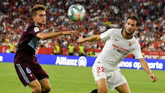 Precedentes Sevilla Celta