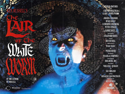 Poster - The Lair of the White Worm (1988)