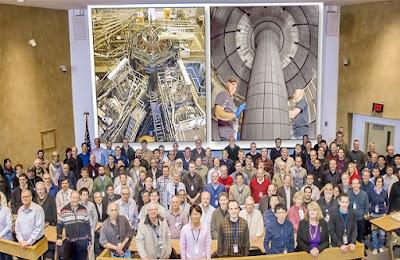 físicos estadounidenses trabajan en un dispositivos de fusiòn