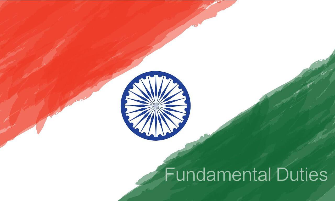 Fundamental duties, flag, Indian flag