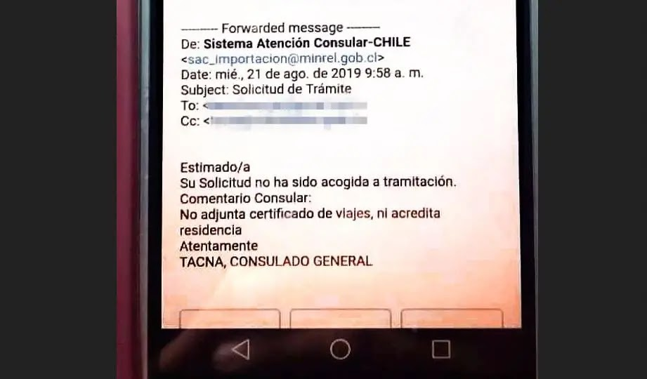 Venezolanos llevan dos meses instalados frente al consulado en Tacna