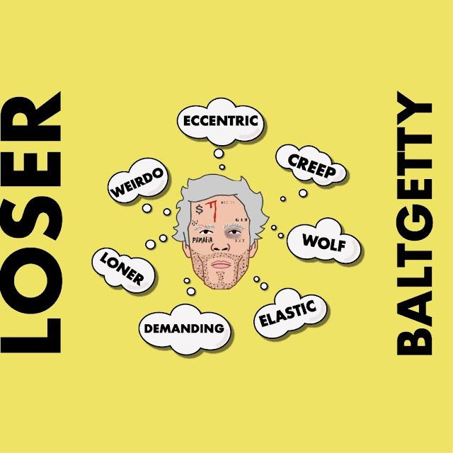 Balt Getty - Loser Artwork