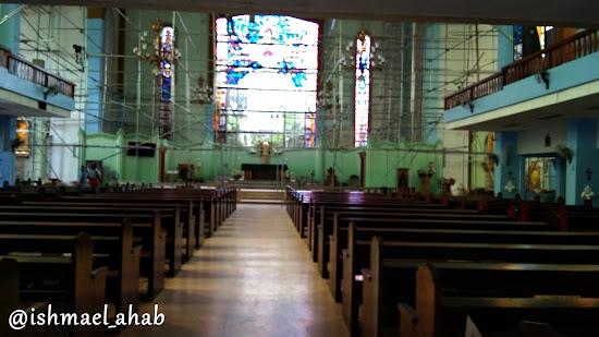 Inside San Isidro Labrador Church in Pasay