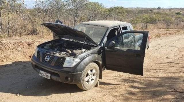 Polícia recupera veículos usados em assalto ao Banco do Brasil de Coremas