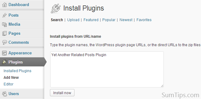 Bulk Plugin Installation