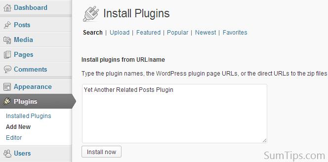 Bulk Plugin Installation