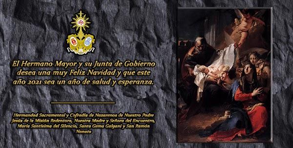 Felicitación Navideña de la Hermandad de la Misión Redentora de Jerez de la Frontera