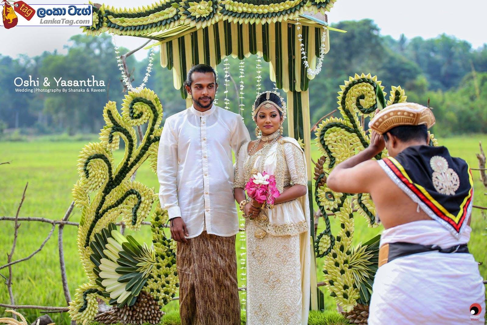 sri lankan wedding dress  2