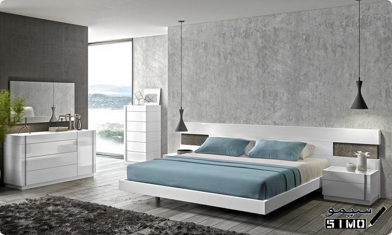 اجمل غرف نوم بتصميمات مودرن حديثة 2018 سيمو