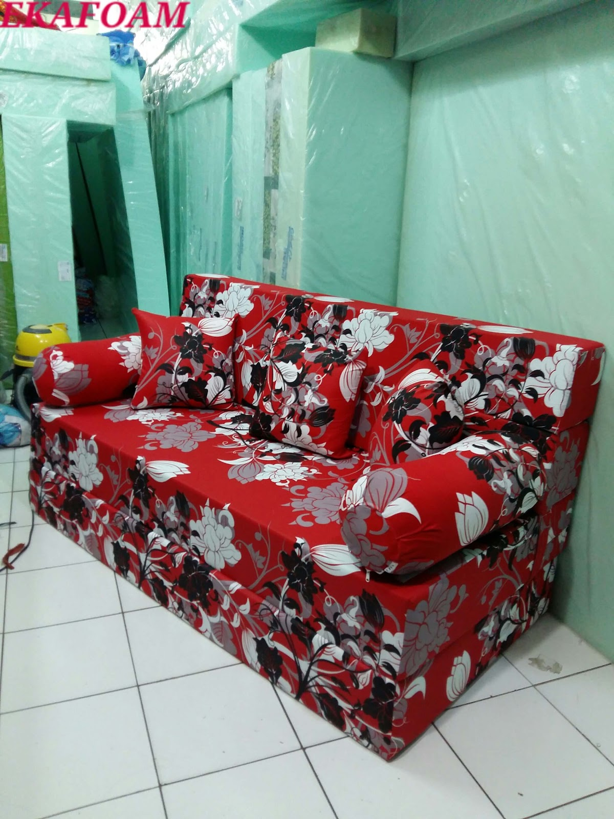 Harga Sofa Bed Inoac 2017 Set Under 10000 Rs Terbaru Agen Jual Kasur Busa