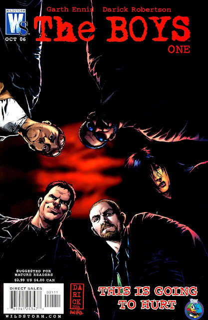 The Boys Comic Serie cbr gratis MEGA