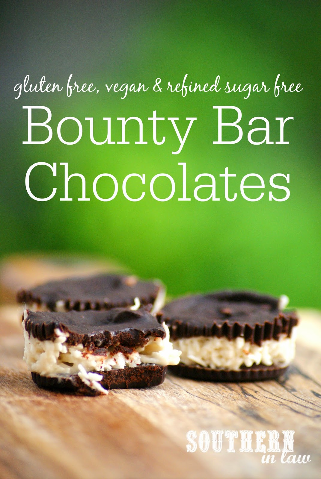 Homemade Vegan Bounty Bar Chocolate Cups Recipe - gluten free, refined sugar free, healthy, vegan, egg free, dairy free