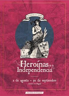 Heroínas de la Independencia Archivo de Bogotá