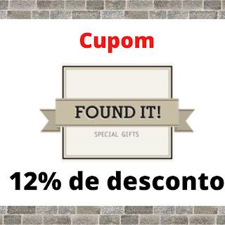 Cupom de desconto FOUND IT - 12% De Desconto (Presentes - Gifts)
