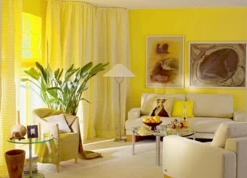 Ide Cat Warna Kuning Untuk Berbagai Ruang Inspirasi