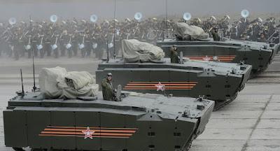 Angkatan Darat Rusia Mimiliki Sekitar 3.000 Sampel Peralatan Militer pada 2016