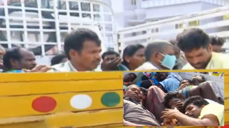 Attempt to lure Salem workers to Palakkad vegetable cart; The police intervened and stopped,www.thekeralatimes.com