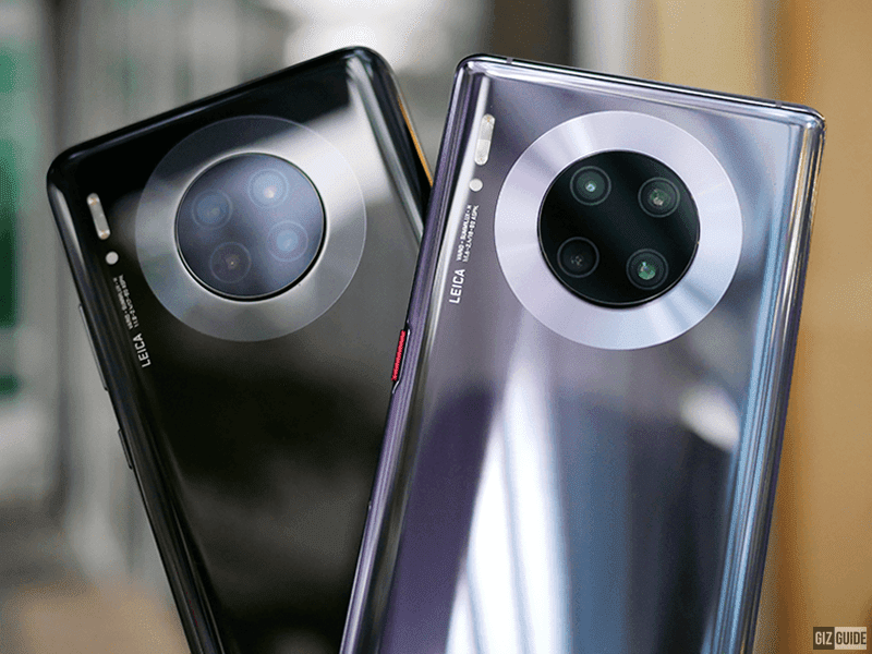 Mate 30 side by side with Mate 30 Pro